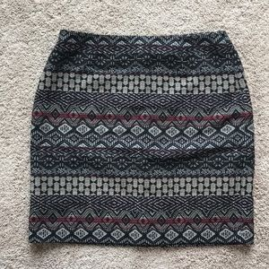 j.jill patterned skirt